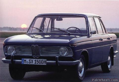 Auto Car Zone: 1962 Bmw 1500