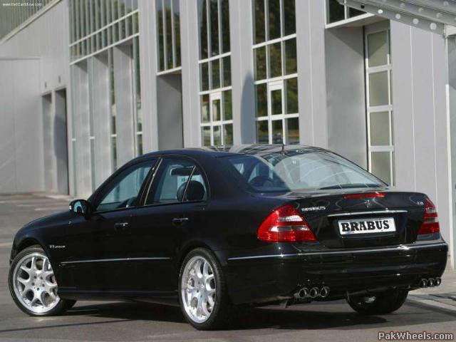 2003 Brabus Mercedes Benz S Class. BRABUS K4 (W/S 211 E200)