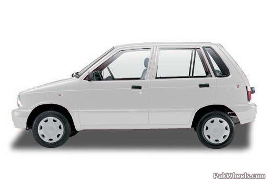Pakistani assembled car's comparison with their first model for e.g.Cultus '01 vs '11 - suzuki mehran 2005 050 222 FKZ PakWheels com