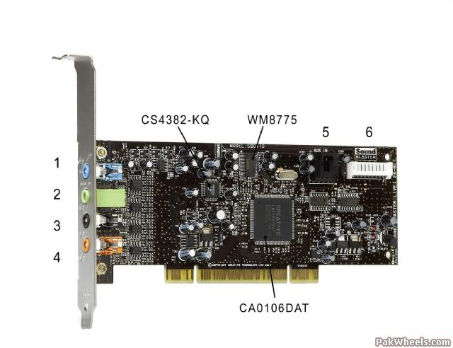 Creative Sound Blaster Live! 24-bit PCI 7.1 Sound
