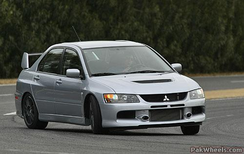 Mitsubishi Evo Xi. and these!