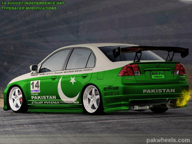 civic wallpaper.  impreza for Pakistan and in that topic somebody requested to make civic