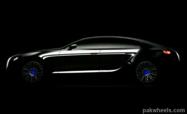 2009 Bugatti Galibier Concept. Bugatti Galibier Concept
