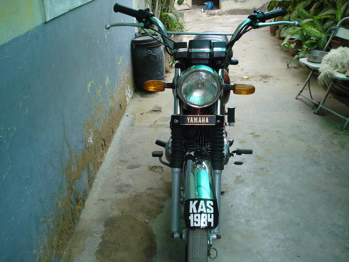 My new ride - suzuki gs 150 - 30561attach