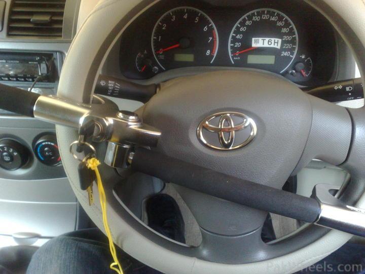 "Project ""Laadli"" - My Toyota Corolla GLi 2010 - 186749 Purchased Steering lock and some other stuff for my corolla gli 2010 120120112057"