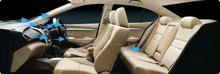 honda city interior 2010. like its interior though.