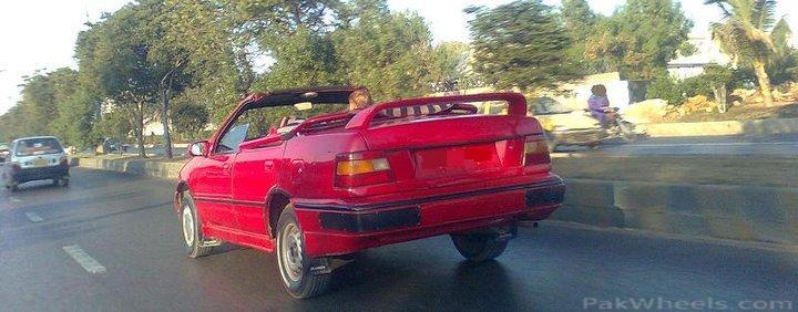 Convertible roof - Honda Civic 1995 - 241411 Open top Hyundai Excel opentop hyundai excel 2