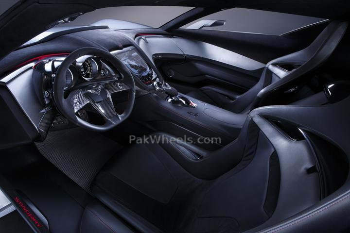 Corvette Stingray Concept Interior. corvette 2010